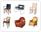 examples of armchairs [1]