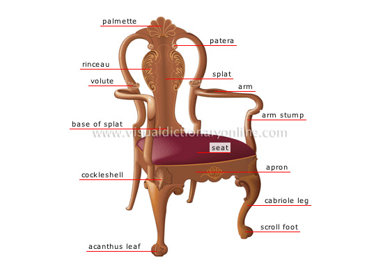 House furniture armchair parts image