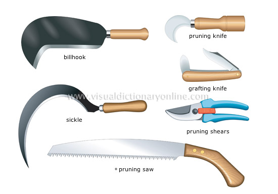 pruning and cutting tools [2]